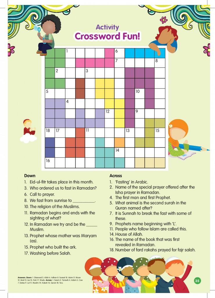 1 Ramadan Crossword