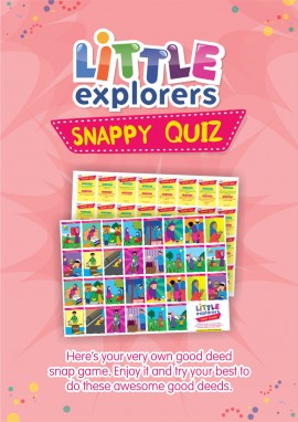 snappy quiz poster